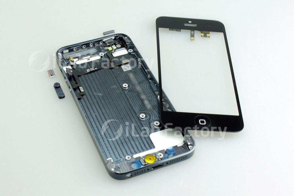 Binnenkant iphone 5 opslag vervangen hardware