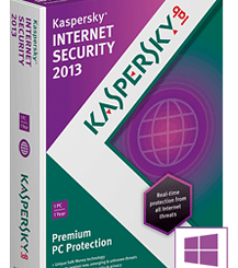Internet Security 2013 - antivirus software Kaspersky Lab