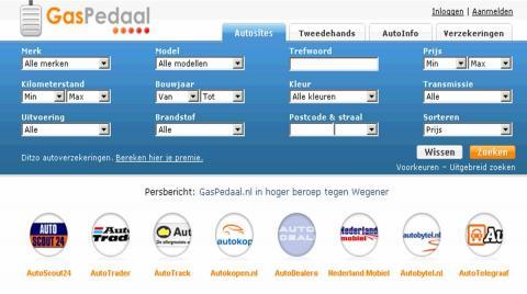 Website gaspedaal moet 2 ton betalen aan Autotrack ...