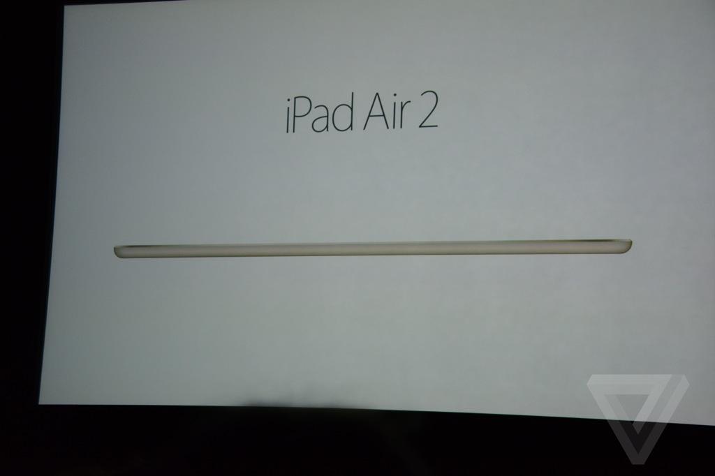 Dit is de nieuwe iPad Air 2 - Technieuws